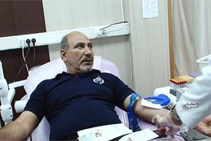 اهدا خون اصفهانی ها در دومین شب از لیالی قدر